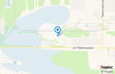 Местоположение на карте пункта техосмотра по адресу Респ Коми, г Усинск, ул Нефтяников, д 11/6