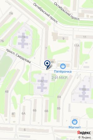 СТРАХОВАЯ КОМПАНИЯ СТАНДАРТ-РЕЗЕРВ на карте Губахи