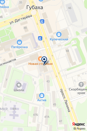 КБ ГУБАХИНСКИЙ на карте Губахи