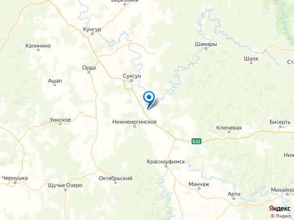 село Сыра на карте