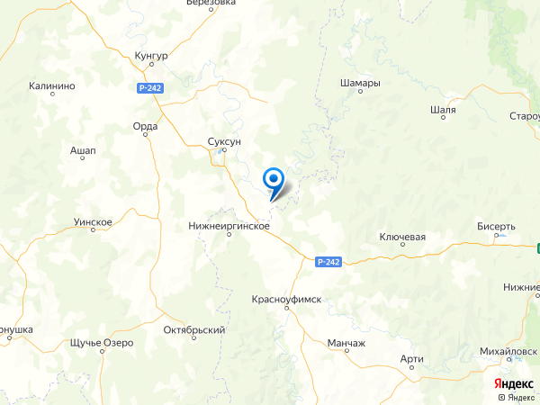 деревня Ларичи на карте