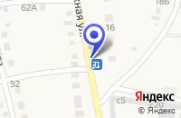 Схема проезда до компании АЗС N 80 ЛУКОЙЛ в Симе