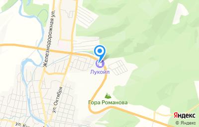 Местоположение на карте пункта техосмотра по адресу Челябинская обл, Ашинский р-н, г Сим, ул Гайдара, д 30А