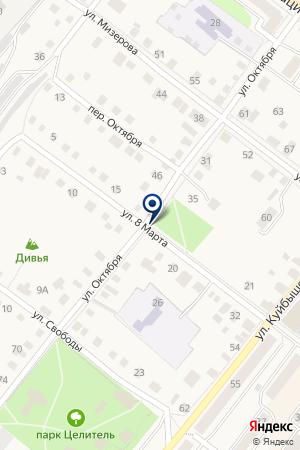 АВТОШКОЛА АВТО-ЛАДА на карте Красноуфимска