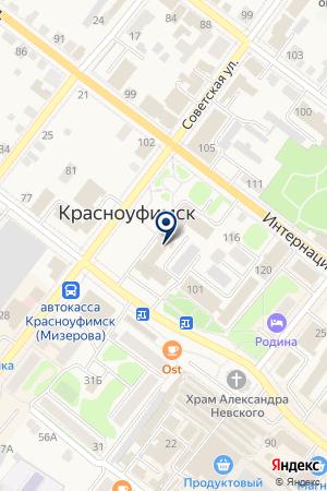 МАГАЗИН АВТОЗАПЧАСТИ на карте Красноуфимска