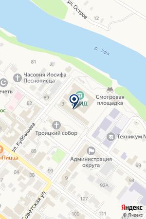 КОМПАНИЯ АКВАЛАЙФ на карте Красноуфимска