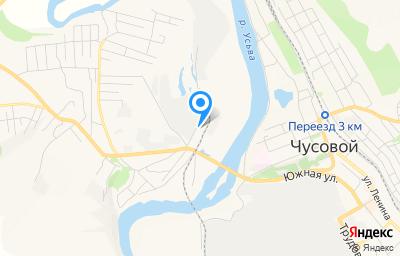 Местоположение на карте пункта техосмотра по адресу Пермский край, г Чусовой, ул Вильвенская, д 68
