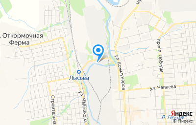 Местоположение на карте пункта техосмотра по адресу Пермский край, г Лысьва, ул Революции, д 55