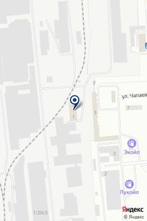 ЛЫСЬВЕНСКИЙ МЕТАЛЛУРГИЧЕСКИЙ ЗАВОД на карте Лысьвы