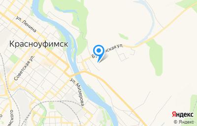 Местоположение на карте пункта техосмотра по адресу Свердловская обл, г Красноуфимск, ул Варгина, д 8А
