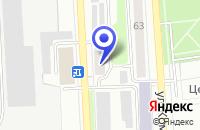 Схема проезда до компании ХЛЕБОКОМБИНАТ в Лысьве