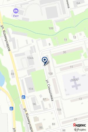 ПРИЗВОДСТВЕННАЯ ФИРМА ДЕ-ВИ КОМФОРТ на карте Лысьвы