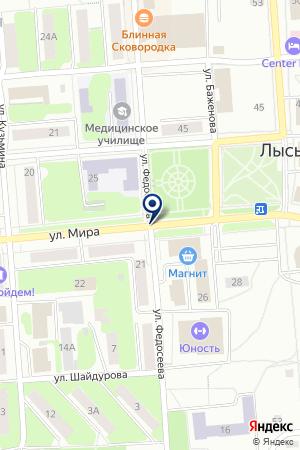 ТФ МЕТКОМПЛЕКТ-ПОСТАВКА на карте Лысьвы