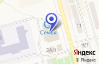 Схема проезда до компании МАГАЗИН АВТОЗАПЧАСТЕЙ ХЛЕБНИКОВ В.Ю. в Чусовом