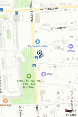 АВТОСТОЯНКА СУСЛОПАРОВ В.Г. на карте Лысьвы