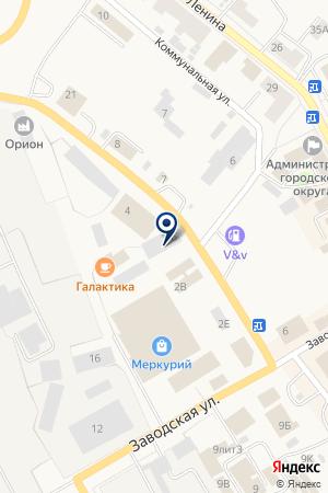 СТО АВТОСЕРВИС на карте Чусового