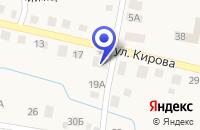 Схема проезда до компании МАГАЗИН ФЕЯ в Октябрьском