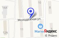 Схема проезда до компании МАГАЗИН МЯСО в Гремячинске