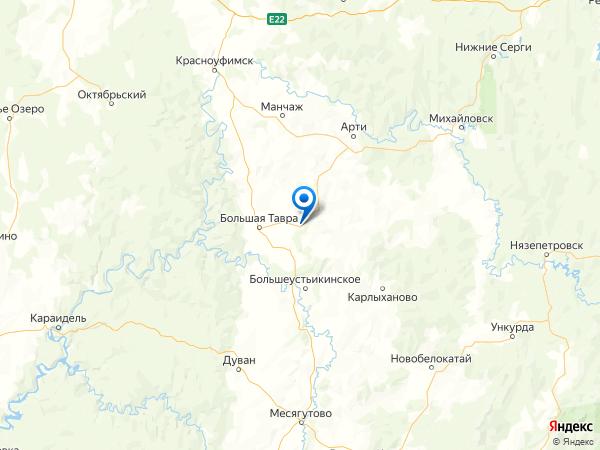 деревня Рыбино на карте
