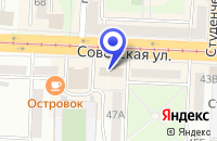 Схема проезда до компании АКБ НОСТА в Новотроицке