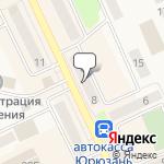 Магазин салютов Юрюзань- расположение пункта самовывоза