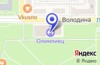 Схема проезда до компании ДВОРЕЦ СПОРТА в Трехгорном