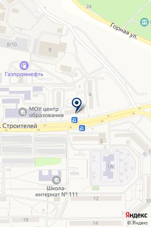 ШИНОМОНТАЖНАЯ МАСТЕРСКАЯ АВТОДОКТОР на карте Трехгорного