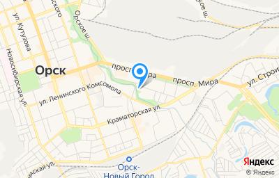 Местоположение на карте пункта техосмотра по адресу Оренбургская обл, г Орск, ул Школьная, д 15