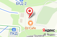 Схема проезда до компании Тир в Зелёной Поляне