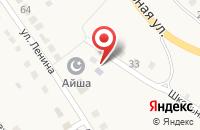 Схема проезда до компании Библиотека №22 в Абзаково