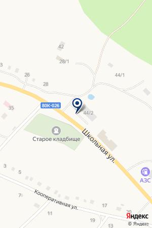 Смайл на карте Абзаково