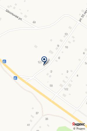Лакомка на карте Абзаково