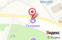 Схема проезда до компании Гасзпром в Зелёной Поляне