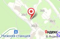 Схема проезда до компании Нимфа в Новоабзаково