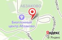 Схема проезда до компании Арбалетно-пневматический тир в Новоабзаково