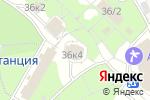 Схема проезда до компании Водолей в Новоабзаково