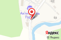 Схема проезда до компании У Петровича в Новоабзаково