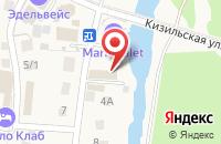 Схема проезда до компании Горный Воздух в Новоабзаково