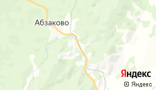 Гостиницы города Новоабзаково на карте