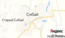 Отели города Сибай на карте