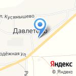 Давлетовская сельская библиотека на карте Магнитогорска