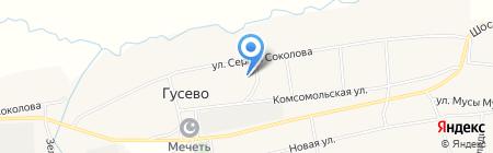 Гусевский фельдшерско-акушерский пункт на карте Авняша