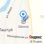 Средняя общеобразовательная школа на карте Магнитогорска