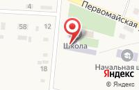 Схема проезда до компании Средняя общеобразовательная школа в Красной Башкирии