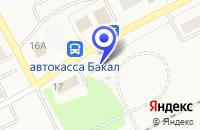 Схема проезда до компании МАГАЗИН АРАРАТ в Бакале