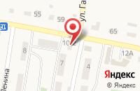 Схема проезда до компании Richi в Красной Башкирии