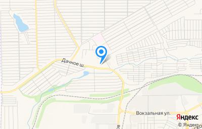 Местоположение на карте пункта техосмотра по адресу Челябинская обл, г Магнитогорск, ш Дачное, д 12
