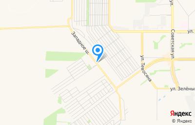 Местоположение на карте пункта техосмотра по адресу Челябинская обл, г Магнитогорск, ш Западное, д 480А