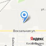 Круг Радости на карте Магнитогорска