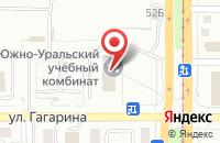 Схема проезда до компании Магнитострой в Магнитогорске